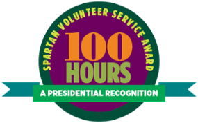 Apply Today! Spartan Volunteer Service Award: A Presidential Recognition