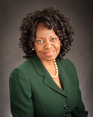 Vice President for Student Affairs and Services, Dr. Denise B. Maybank